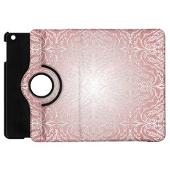 Pink Damask Apple iPad Mini Flip 360 Case