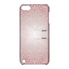 Pink Damask Apple Ipod Touch 5 Hardshell Case With Stand