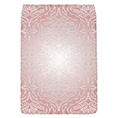 Pink Damask Removable Flap Cover (large)