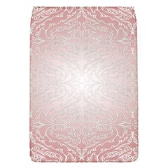 Pink Damask Removable Flap Cover (small)