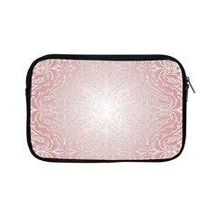 Pink Damask Apple iPad Mini Zipper Case