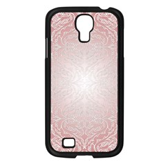 Pink Damask Samsung GALAXY S4 I9500 (Black)