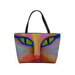 Cat Face Large Handbag