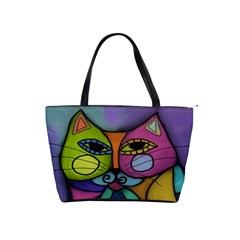 Calico Cat Large Handbag