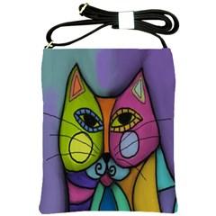 Calico Cat Shoulder Sling Handbag
