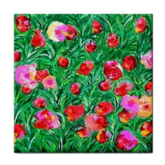 Flower Dreams Ceramic Tile
