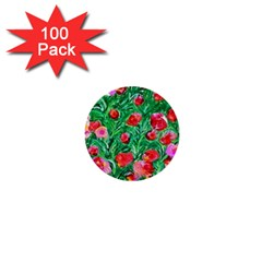 Flower Dreams 1  Mini Button (100 pack)