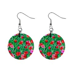 Flower Dreams Mini Button Earrings