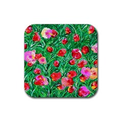 Flower Dreams Drink Coasters 4 Pack (square)