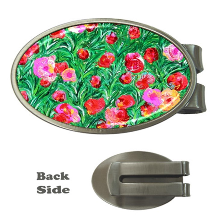 Flower Dreams Money Clip (Oval)