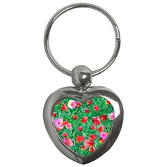 Flower Dreams Key Chain (heart)