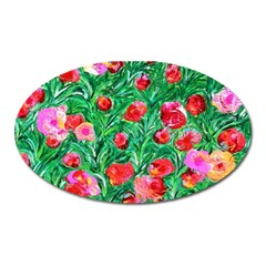 Flower Dreams Magnet (oval)