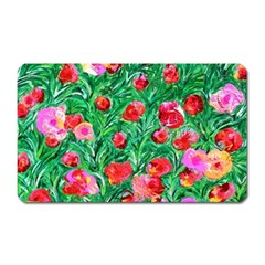 Flower Dreams Magnet (rectangular)