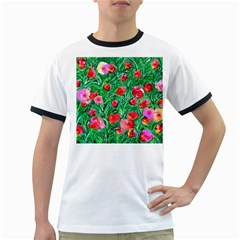Flower Dreams Mens' Ringer T Shirt