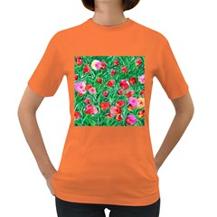 Flower Dreams Womens' T-shirt (Colored)