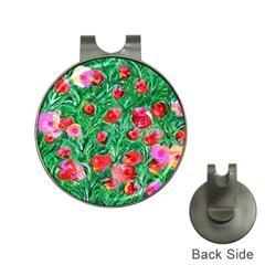 Flower Dreams Hat Clip With Golf Ball Marker
