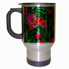 Flower Dreams Travel Mug (Silver Gray)