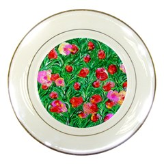 Flower Dreams Porcelain Display Plate