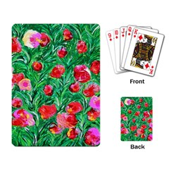 Flower Dreams Playing Cards Single Design