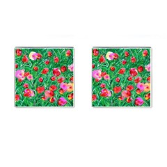 Flower Dreams Cufflinks (Square)