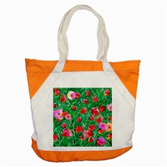 Flower Dreams Accent Tote Bag