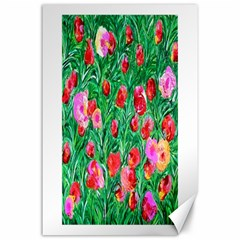 Flower Dreams Canvas 24  X 36  (unframed)