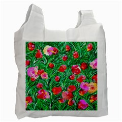Flower Dreams Recycle Bag (One Side)