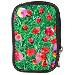 Flower Dreams Compact Camera Leather Case