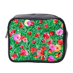 Flower Dreams Mini Travel Toiletry Bag (two Sides)