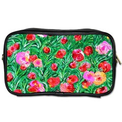 Flower Dreams Travel Toiletry Bag (Two Sides)