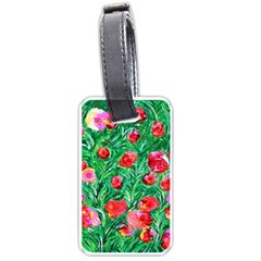 Flower Dreams Luggage Tag (Two Sides)