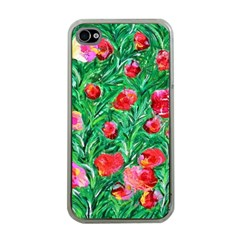 Flower Dreams Apple Iphone 4 Case (clear)