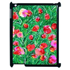Flower Dreams Apple iPad 2 Case (Black)