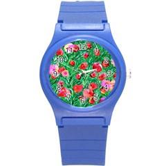 Flower Dreams Plastic Sport Watch (Small)