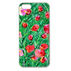 Flower Dreams Apple Seamless iPhone 5 Case (Clear)