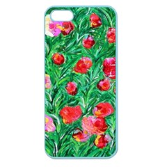 Flower Dreams Apple Seamless iPhone 5 Case (Color)
