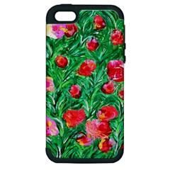 Flower Dreams Apple Iphone 5 Hardshell Case (pc+silicone)