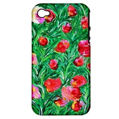 Flower Dreams Apple iPhone 4/4S Hardshell Case (PC+Silicone)