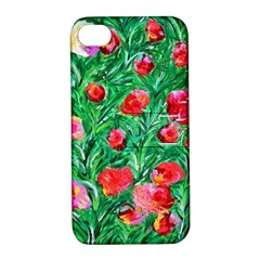 Flower Dreams Apple Iphone 4/4s Hardshell Case With Stand