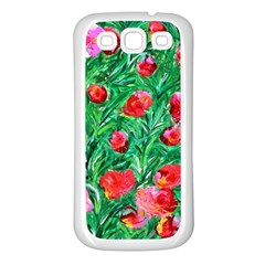 Flower Dreams Samsung Galaxy S3 Back Case (white)