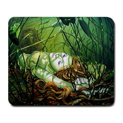 Amber Large Mouse Pad (Rectangle)