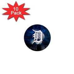 1 Detroit%20tigers Wallpaper 1  Mini Button Magnet (10 pack)