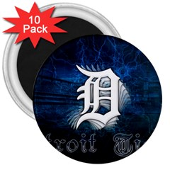 1 Detroit%20tigers Wallpaper 3  Button Magnet (10 pack)