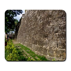Wall of the Historical Fort San Pedro Large Mouse Pad (Rectangle)