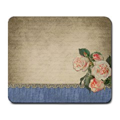 vintage Large Mouse Pad (Rectangle)