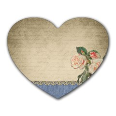 vintage Mouse Pad (Heart)