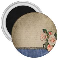 vintage 3  Button Magnet