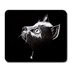 Shadow Cat Large Mouse Pad (rectangle)