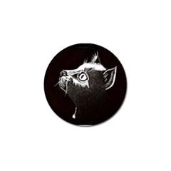 Shadow Cat Golf Ball Marker 4 Pack