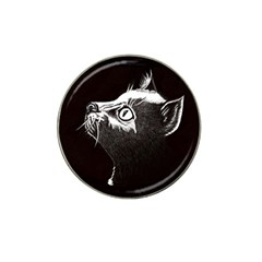 Shadow Cat Golf Ball Marker 4 Pack (for Hat Clip)